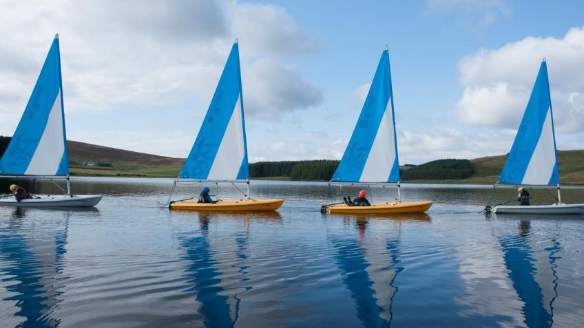 Gain Level 1 Dinghy Sailing This Month